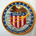 Vintage Apollo 16 Mission Patch Lion Brothers Hallmarked 4 NASA Astronaut Space