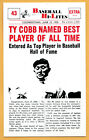 Ty Cobb Cards and Autograph Buying Guide 17