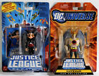 SET LOT OF 2 DC Justice League Unlimited Action Figures HAWKMAN HAWKGIRL