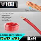 11 Gauge AWG Pure Copper Trailer Primary Wire Hookup RV Battery Power Cable 18ft