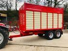 NEW 12 TONNE JB ENGINEERING SILAGE TRAILER 560 Flotation tyres tractor