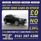 BMW X5 30TD xDrive30d M Sport GOOD BAD CREDIT CAR FINANCE