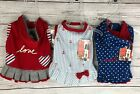 ED Ellen Degeneres Dog Apparel Clothing Size Small Set Of 3 Dresses Hoodie NEW