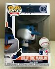 Funko Pop! MLB Mascots Miami Marlins BILLY THE MARLIN # 09 Figure On Hand NEW