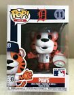 Funko Pop! MLB Mascots Detroit Tigers PAWS # 11 Figure On Hand NEW