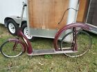 Antique Ingo Bike Bicycle Scooter In Go Vintage Cycle Pedal Push