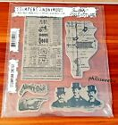 Jim Holtz Collection Stampers Anonymous Steampunk CMS107 Set of 5 NEW