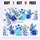 LEMOOC 45 Designs Water Transfer Stickers Flower Animals Nails Decal Decoration