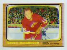 1966-67 Topps USA TEST ISSUE Bruce MacGregor #5 Hockey Card Vending