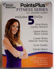 Weight Watchers Points Plus Fitness Series 5 DVDs 2013 Exercise SEALED