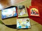 LOT OF 4 VINTAGE CHRISTMAS SANTA NATIVITY HOLIDAY POPUP POP UP BOOKS FOR KIDS
