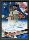2017 Topps Chrome Baseball Complete Set Sapphire Edition Cards 9