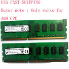 Micron 16GB 2x8GB DDR3 1600Mhz PC3 12800 240pin Desktop DIMM RAM Only AMD CPU