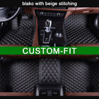 Custom-fit Car Floor Mats For Jeep Cherokee 5 Seats 2013-2017 Waterproof Car Mat