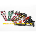 For HYOSUNG GT250R 2006-2016 GT650R 2006-2012 GD250R MixColor Brake Levers