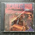 RARE Scarlet Red Don't Dance With Danger CD Glam Metal 1989 Pure Metal Records