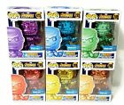 Funko Pop! Marvel AVENGERS INFINITY WAR THANOS Chrome Set of 6 WALMART EXCLUSIVE