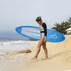 KS SP1009 11 Adult Inflatable SUP Stand Up Paddle Board Blue  Gray  Black US