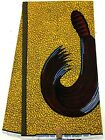 YELLOW RED African Print Fabric6 Yards 100 Cotton Ideal for Women Clothing