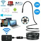8mm Android Endoscope 6 Led Snake Borescope Usb Inspection Camera 2m5m Cable Be