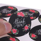 120pcs lot Flower Thank You Series Round Seal Sticker DIY Gifts Package Label