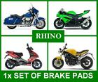 Front Disc Brake Pads Set for: Kymco Jetix 50 (2010). // Type FA086 // Fast Post