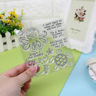 DIY Octopus Silicone Clear Stamps Scrapbooking Photo Album Card Art Crafts Decor
