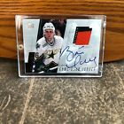 BRETT HULL 2000 01 UPPER DECK 2 COLOR GAME JERSEY AUTOGRAPH