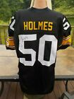 EARL HOLMES AUTO SIGNED NWT PRO LINE AUTHENTIC JERSEY PITTSBURGH STEELERS DIRECT
