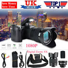 1080P Digital Camera Camcorder 24X Zoom Telephoto Lens Videos Recorder Camera