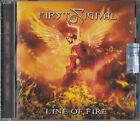 FIRST SIGNAL - Line of fire ( 2019 Frontiers cd / Brand new & sealed)