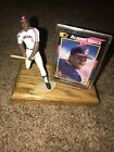 Albert Belle Starting Lineup Figure And Card Mounted On Wood Cleveland Indians