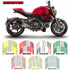 For DUCATI MONSTER  #style 2 Cool wheel stickers Fashion wheel protector