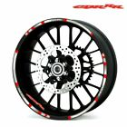 For Honda CBR  #style 1 Rim Decal motorcycle wheel sticker
