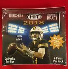 2018 SAGE HIT PREMIER DRAFT HIGH SERIES SEALED HOBBY EDITION BOX 12 Autographs!