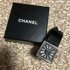 CHANEL watch vintage Mademoiselle black