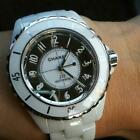 CHANEL J12 White Men's mirror watch