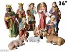 Nativity Set JesusMary Joseph ShepherdGuardian AngelThree Kings  Animal