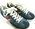 POLO Youth Blue Suede Sneakers Tennis shoes Size 25