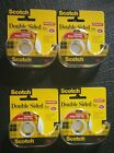 4 Roll pack 3M Scotch Double Sided Permanent Tape  Photo Safe 1 2 x 450