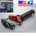 Universal CNC ATV Scooter Bracket LED Light Mounting Extension Bar 42mm Clamp US
