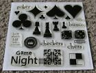 New Close to My Heart D1215 Game Night Stamp Set CTMH