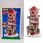 LEMAX Holiday House Village - COUNTDOWN CLOCK TOWER - Table Accent NIB NEW