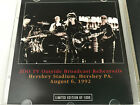 U2 The Hershey Tapes Rehearsals August 6, 1992 Bullseye Records Limited Edition