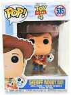 Funko Pop Sheriff Woody Holding Forky # 535 Toy Story 4 Vinyl Figure Brand New
