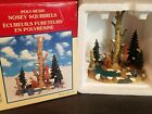 Lemax Nosey Squirrels Village Landscape Trees Pond Accent Christmas Village