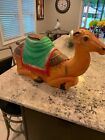 Vintage Empire 27 Lighted Blow Mold Nativity Camel CHRISTMAS w Electric Cord