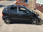 "LARGER PHOTOS: MERCEDES A190 AVANTGARDE FULL LEATHER, SUNROOF, S/S EXHAUST, 18"", CLIFFORD, FSH"