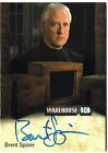 Warehouse 13 Premium Packs Season 4 Autograph Costume Card Brent Spiner #84 160