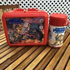 Vintage 1987 Captain Power Red Lunch Box  Thermos Aladdin